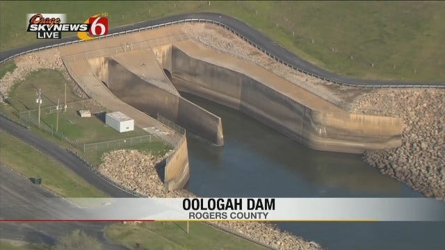 Fishing Spot Closed Due To Oologah Dam Construction