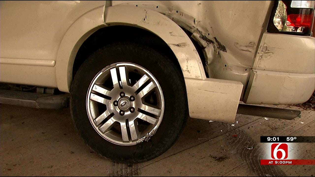 East Tulsa Couple Hopes For Tips On Hit-And-Run Driver