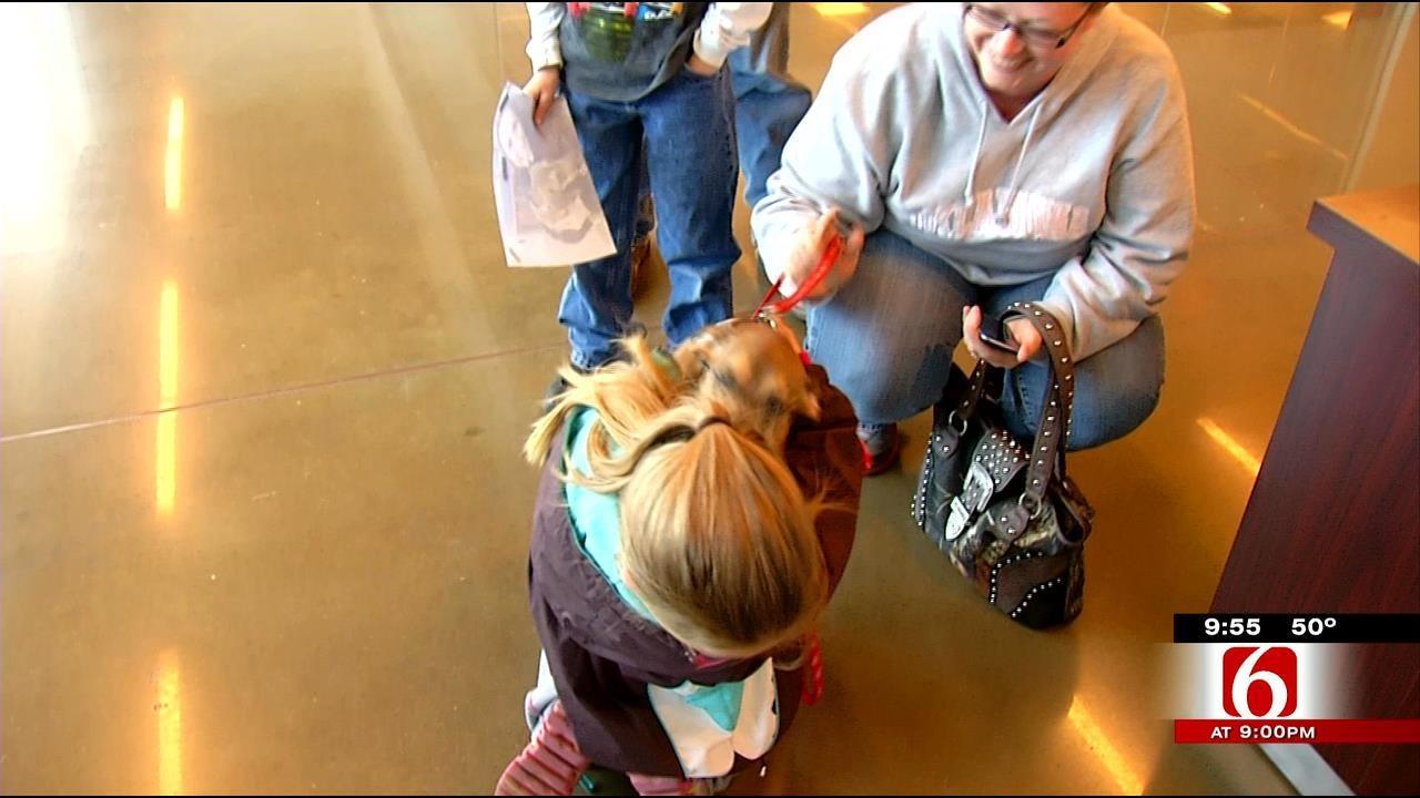 Family, Dog Separated After Sand Springs Tornado Reunite