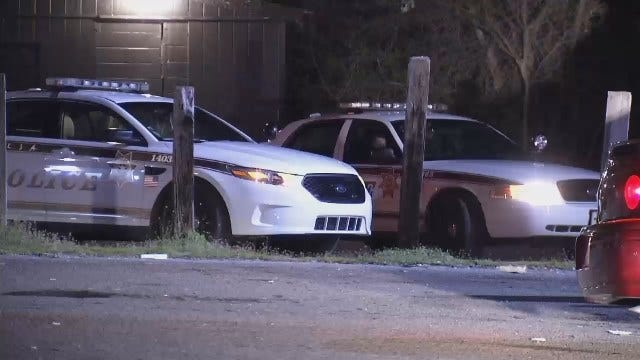 WEB EXTRA: Video Of Police Outside Obsessions Bar On North Peoria