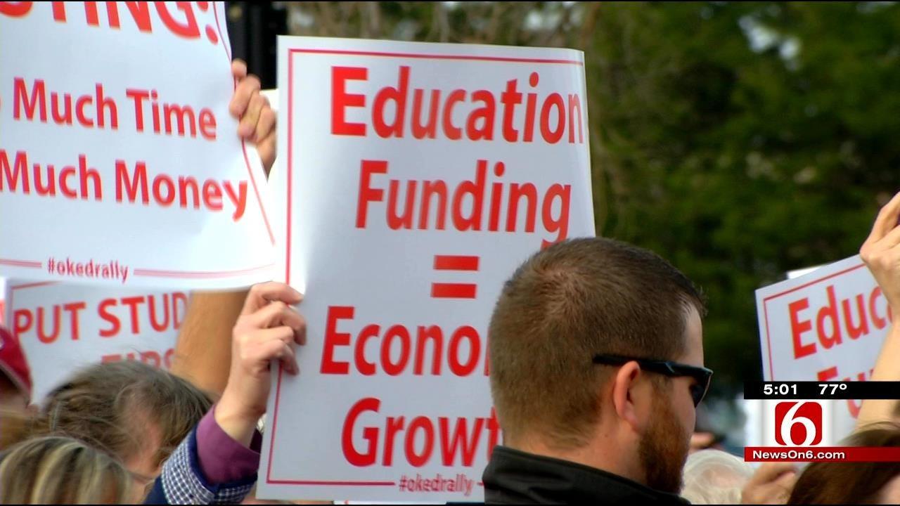 Oklahoma Educators To Rally For 'Brighter Future'