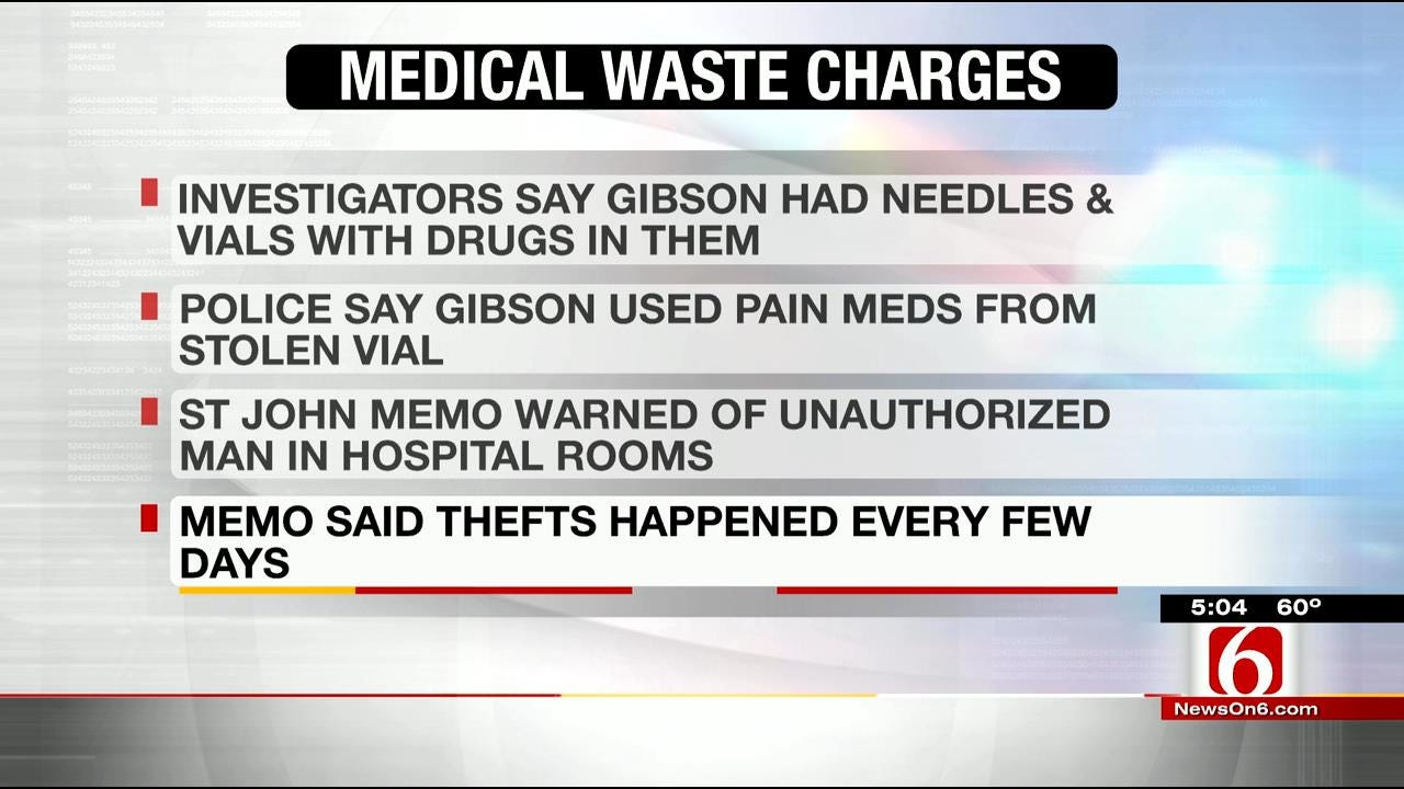 Ralston Man Charged With Stealing Medical Waste From St. John