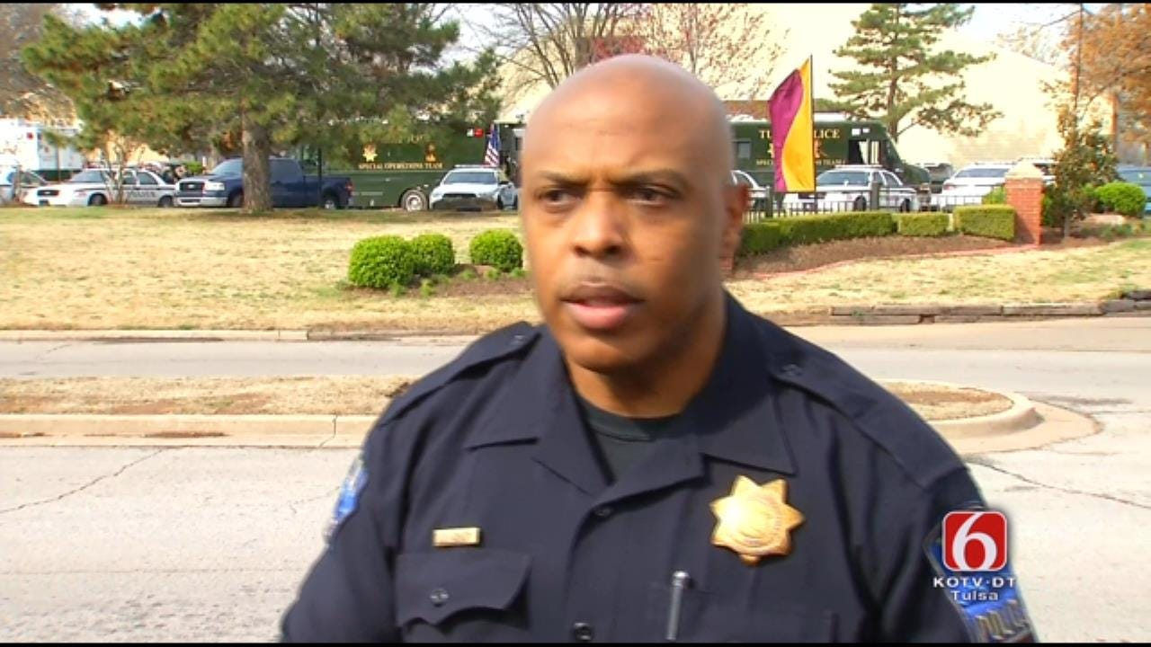 WEB EXTRA: Tulsa Police Officer Leland Ashley Talks About Finding Child Dead At End Of Standoff