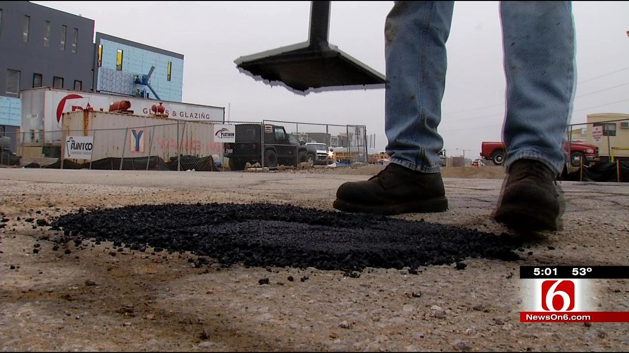 City Of Tulsa Using Overtime Hours To Control Potholes