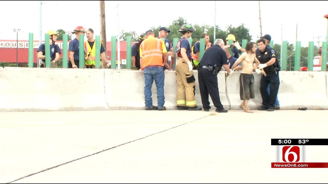 Tulsa Burglar Arrested In Cavern Under I-44 For Second Time