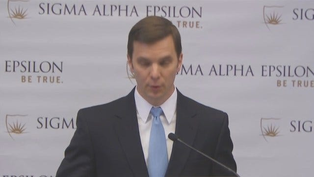 WEB EXTRA: SAE National Director, Blaine Ayers Apologized For Racist Video