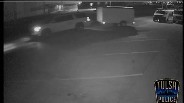 WEB EXTRA: Surveillance Video Of Trailer Theft Posted On TPD's YouTube Page