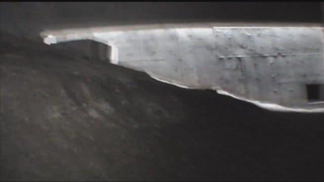 WEB EXTRA: Video Of Cavern Under I-44 Near Garnett