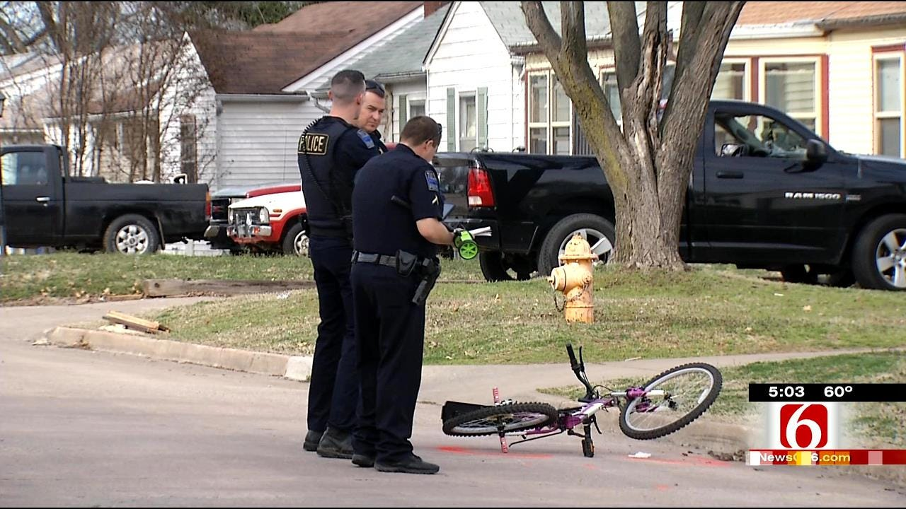 Tulsa Parents Concerned About Bicycling Safety After Child Hit By SUV