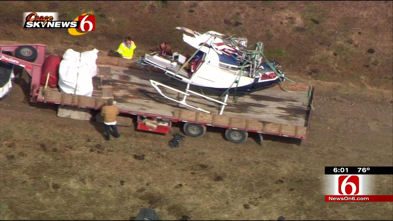 Wreckage Of Helicopter Removed From McIntosh County Crash Site