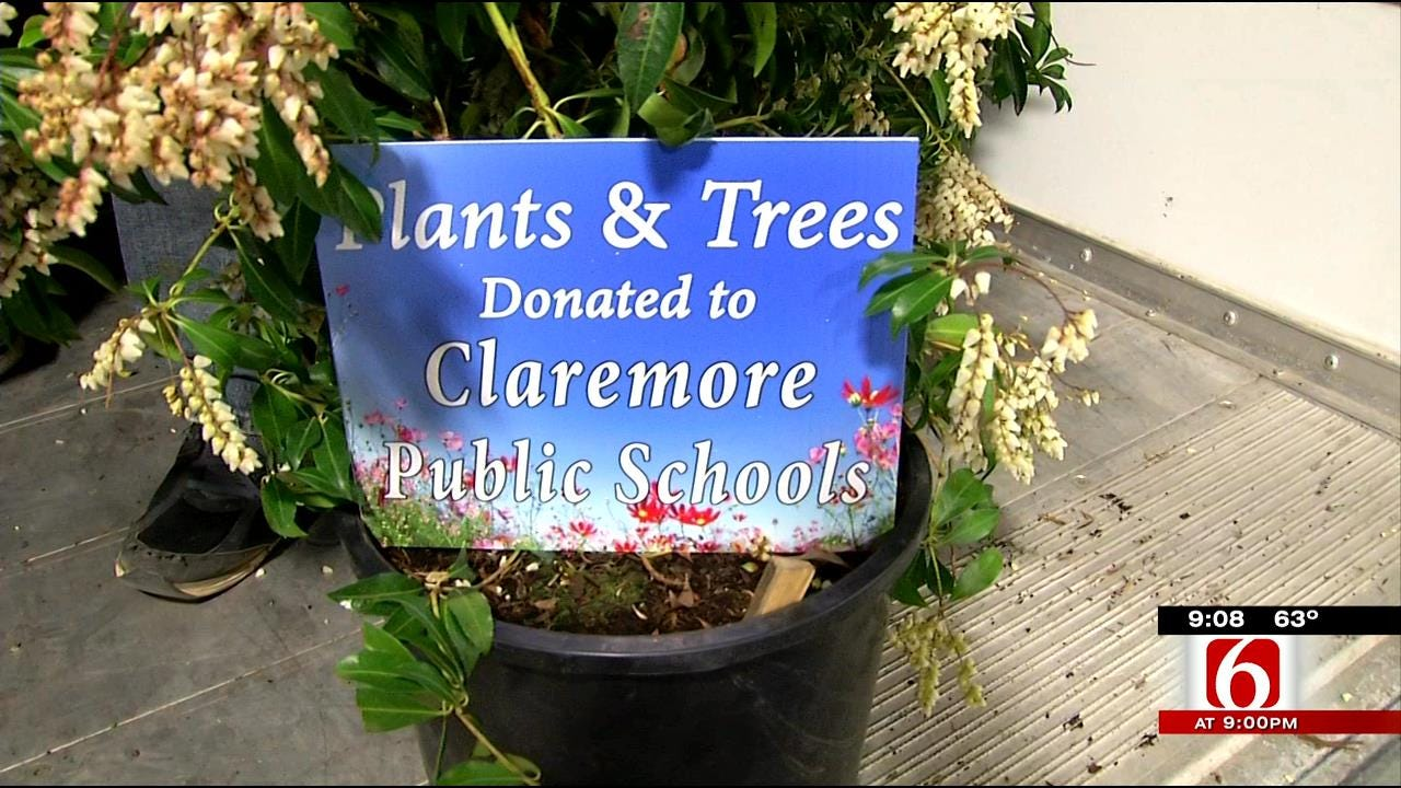 Home And Garden Show Donates Some 'Green' To Claremore Schools