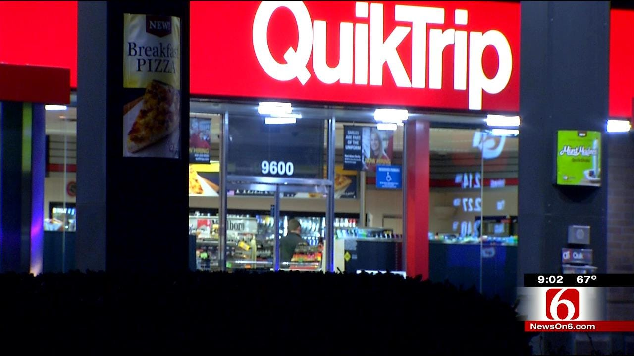Robber Fires Shot At Owasso QuikTrip Customer