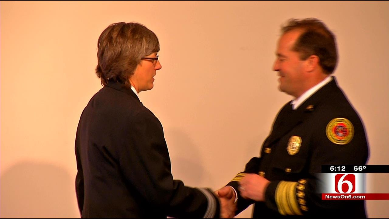 Tulsa Fire Department Names First Female District Chief