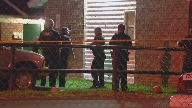 WEB EXTRA: Video At Scene At Suzanne Apartments In East Tulsa