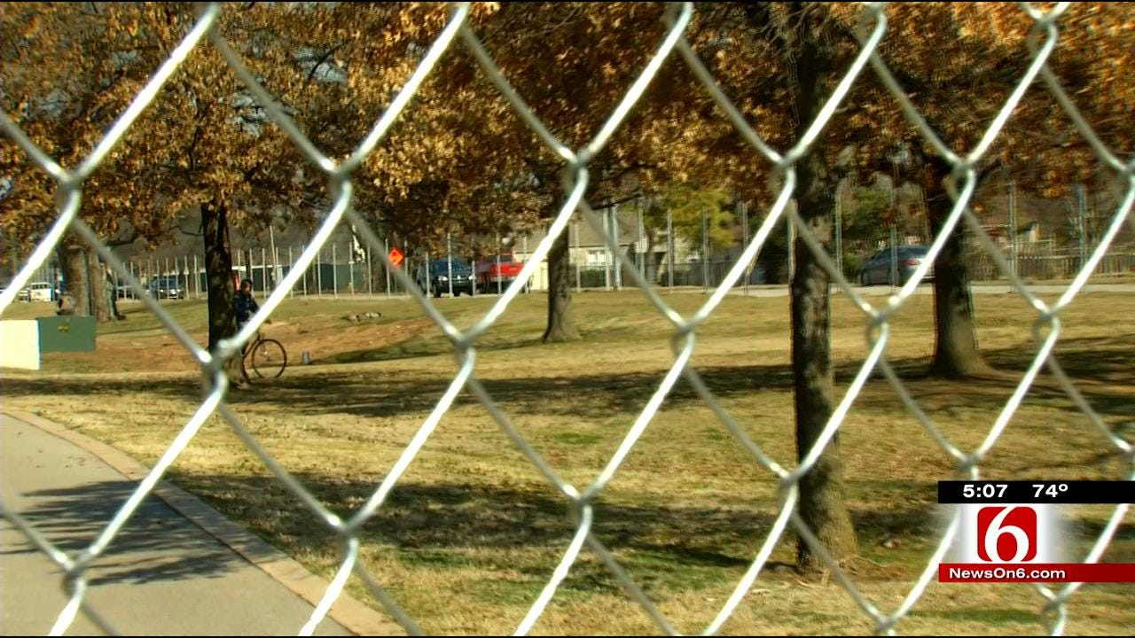 Construction Fence Goes Up To Keep Patrons Off RiverParks Trails