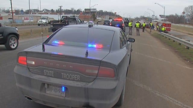WEB EXTRA: Video From Scene Of Fatal Sand Springs Crash