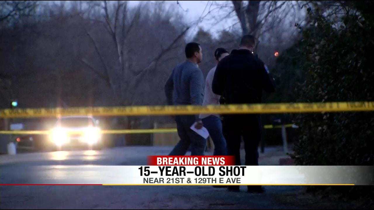 Teen Critical After Tulsa Shooting; Police Seek Suspects, 2nd Victim