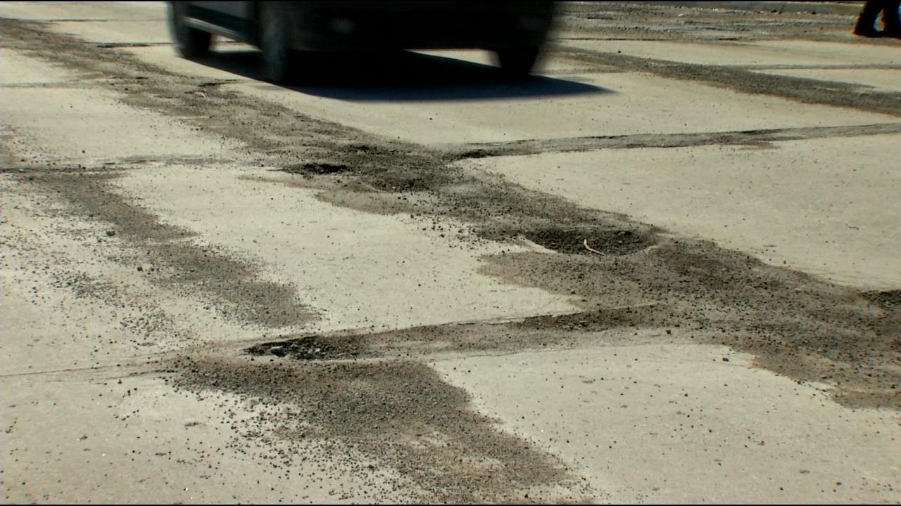 Winter Weather Creates More Potholes On Tulsa Roads