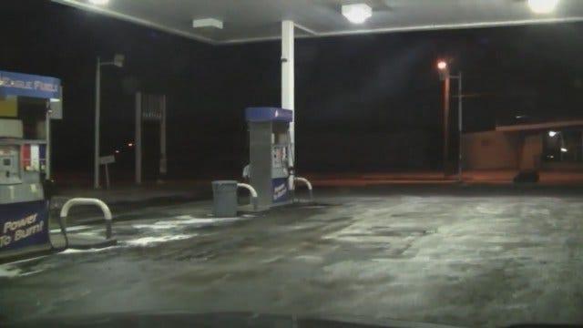 WEB EXTRA: Video From Scene At Tulsa Gas Station On North Cincinnati