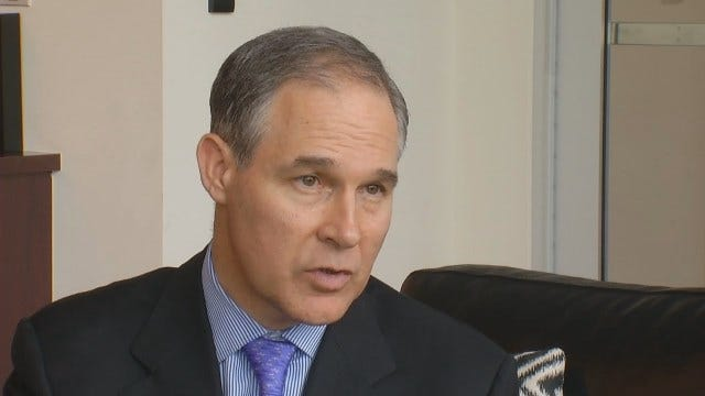 WEB EXTRA: Oklahoma Attorney General Scott Pruitt Talks About Fight Against Affordable Care Act
