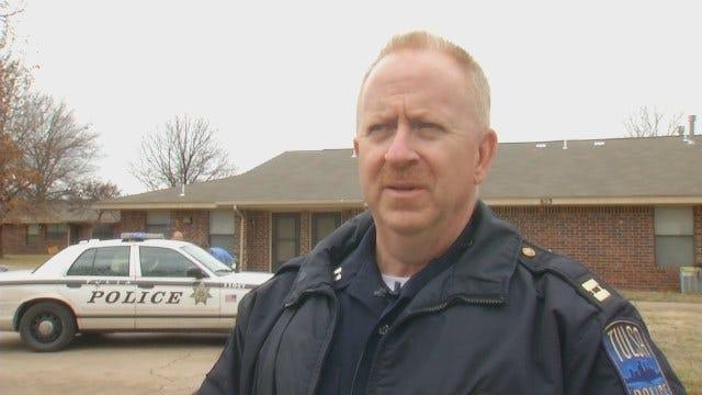 WEB EXTRA: Tulsa Police On East Newton Homicide