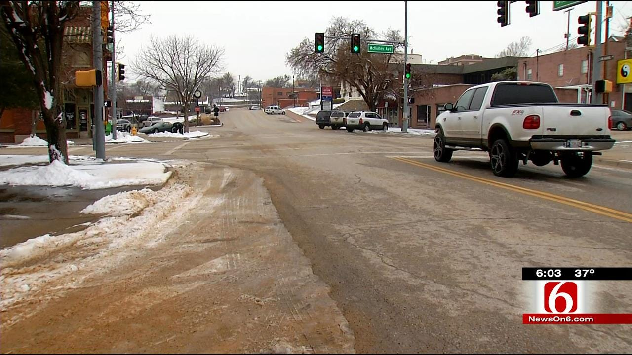 Sand Springs Says Salt Too Expensive To Use On Roads