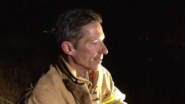 WEB EXTRA: Country Corner Fire Chief Jim Massey Talks About Trailer Fire