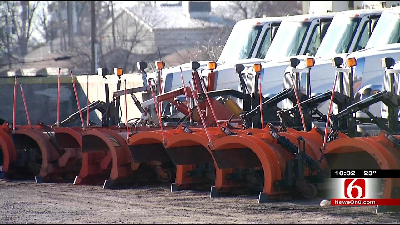 Tulsa Street Maintenance Prepares For More Winter Weather