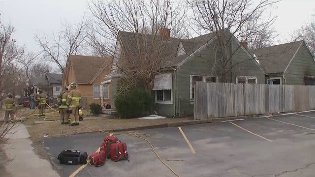 WEB EXTRA: Video From Scene Of Duplex Fire On Zunis