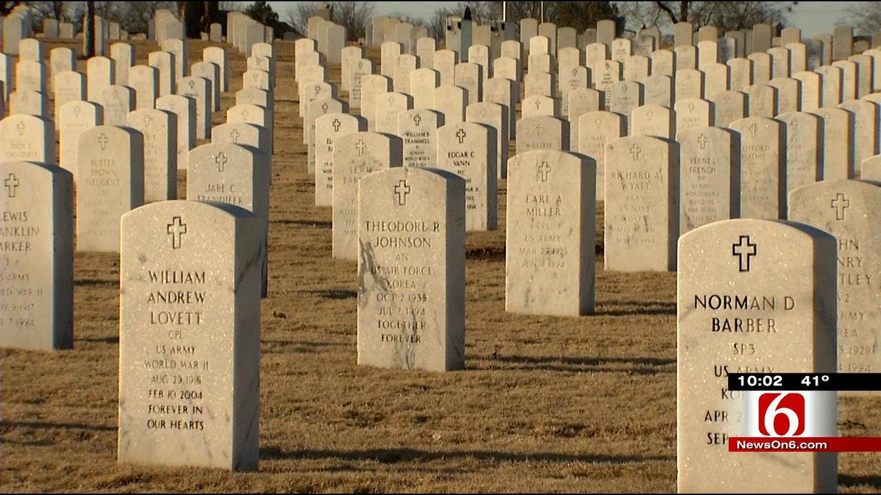 Ft. Gibson Police: 5 Could Face Federal Charges For Breaking Into National Cemetery