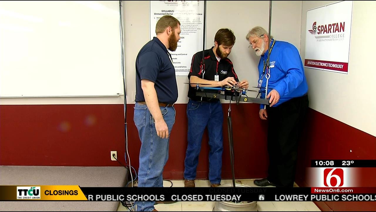 Oklahoma College Teaches Course On 'Latest Aviation Trend'