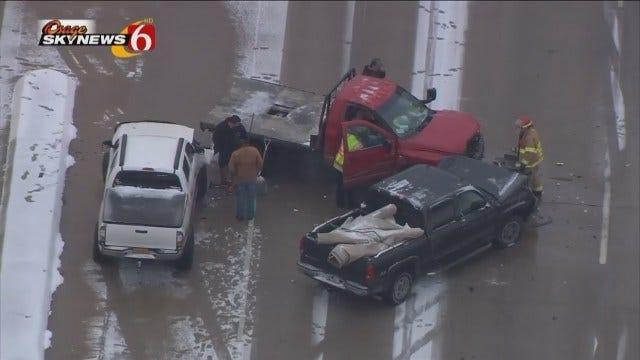 Osage SkyNews 6 Flies Over 5-Vehicle Wreck