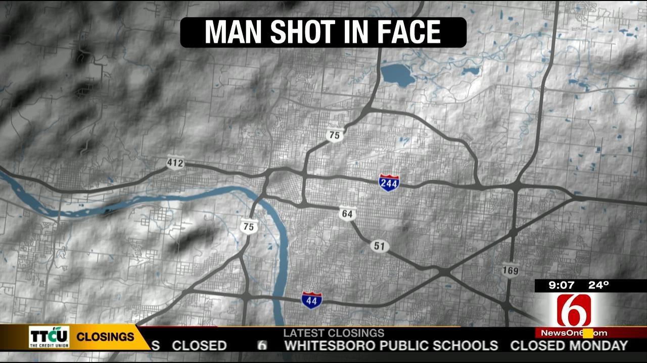 Man Shot In Face After Picking Up Woman At Tulsa Club