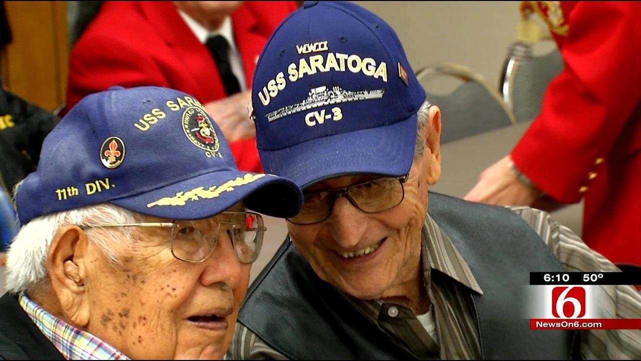 70th Anniversary Of Battle Of Iwo Jima Remembered In Tulsa