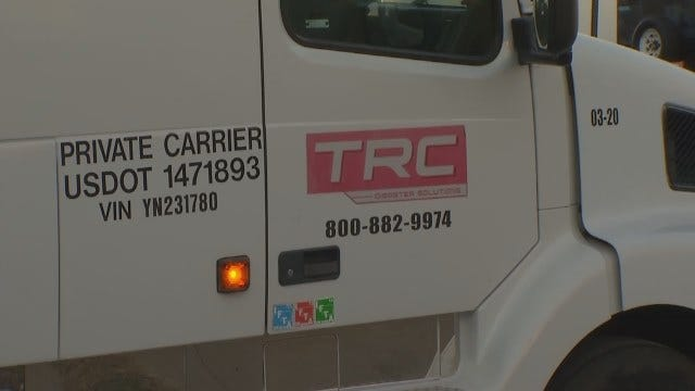 WEB EXTRA: Tulsa Business Sending Cleanup Workers To Boston