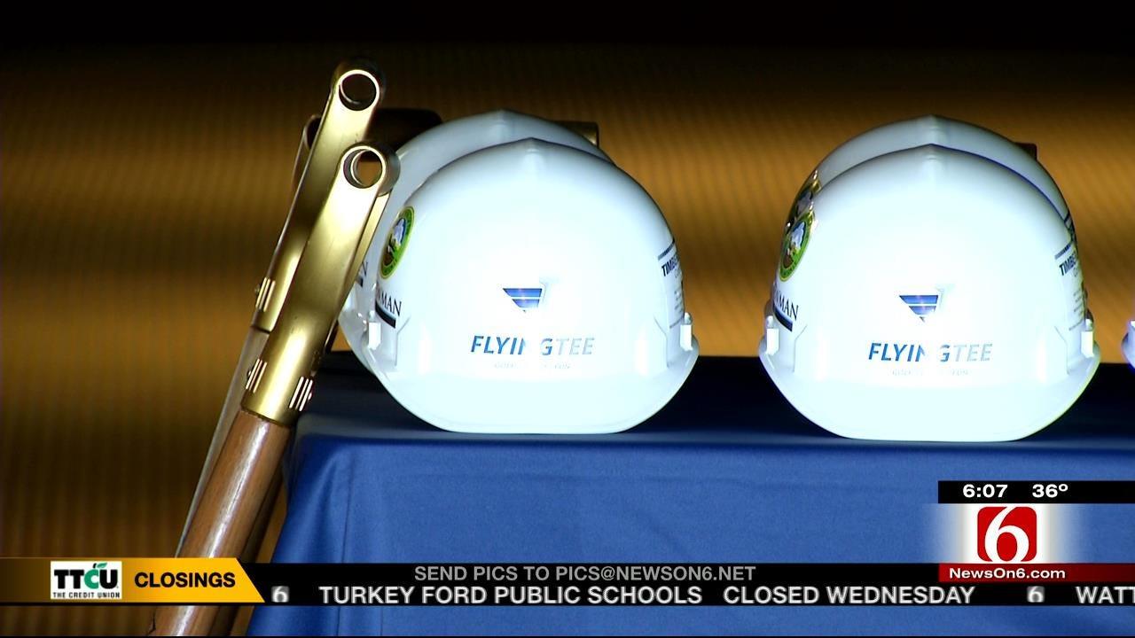 'FlyingTee' Golf-Themed Entertainment Coming To Jenks RiverWalk
