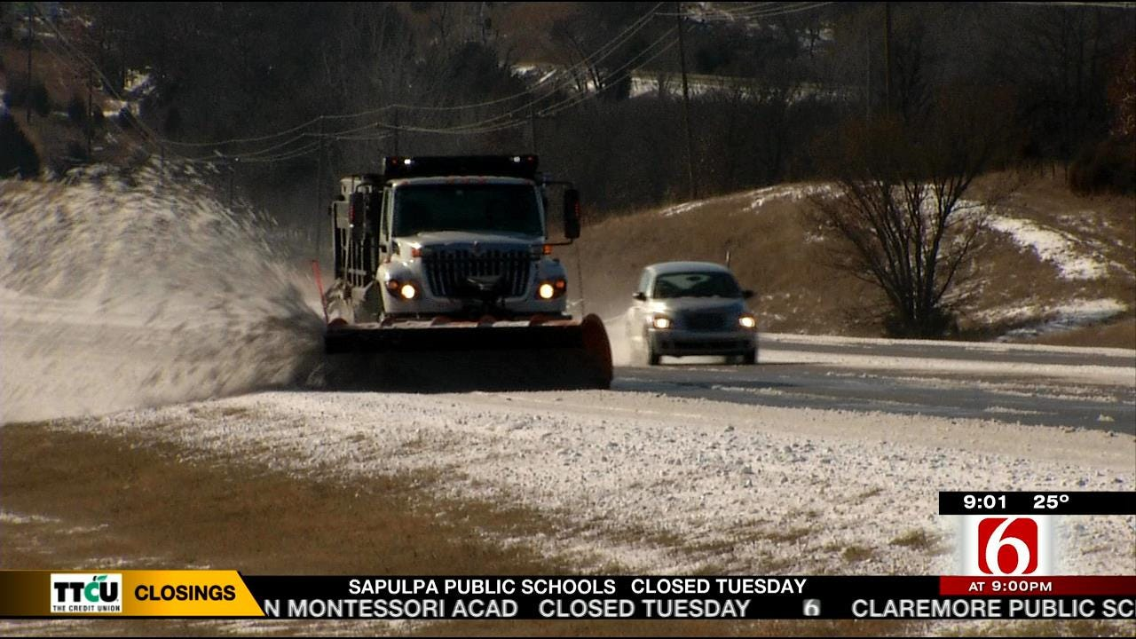 ODOT Warns Of Refreezing, Black Ice For Morning Drivers