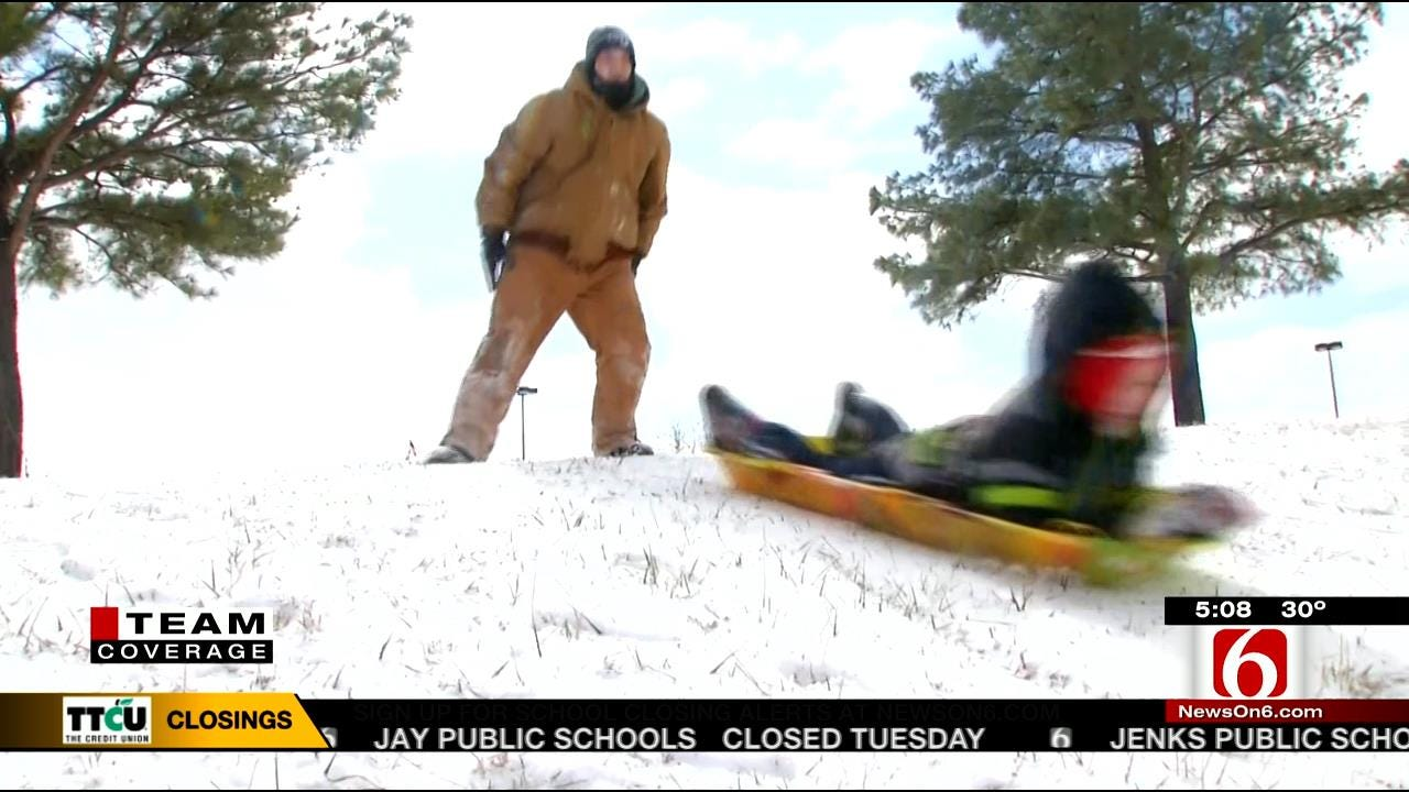 Bartlesville Recovering From Blast Of Snow