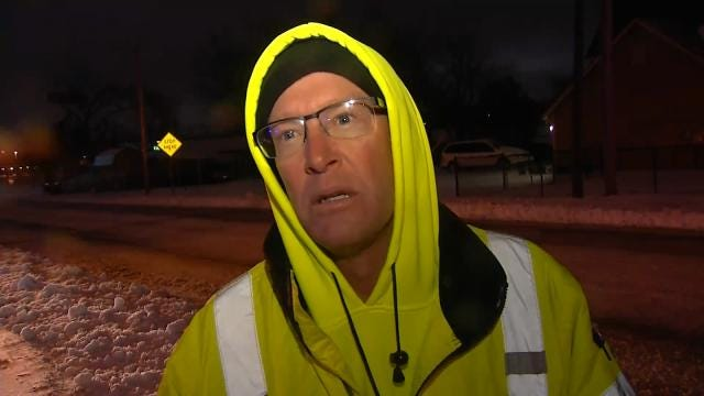WEB EXTRA: ODOT Spokesman Martin Stewart Talks About Their Snow Plows