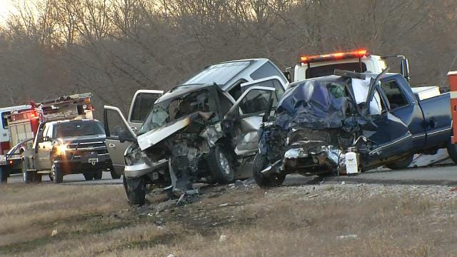 WEB EXTRA: Fatal Wreck On Highway 88 In Rogers County