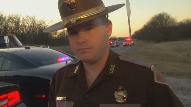 WEB EXTRA: Trooper Andy Floyd On Fatal Rogers County Wreck