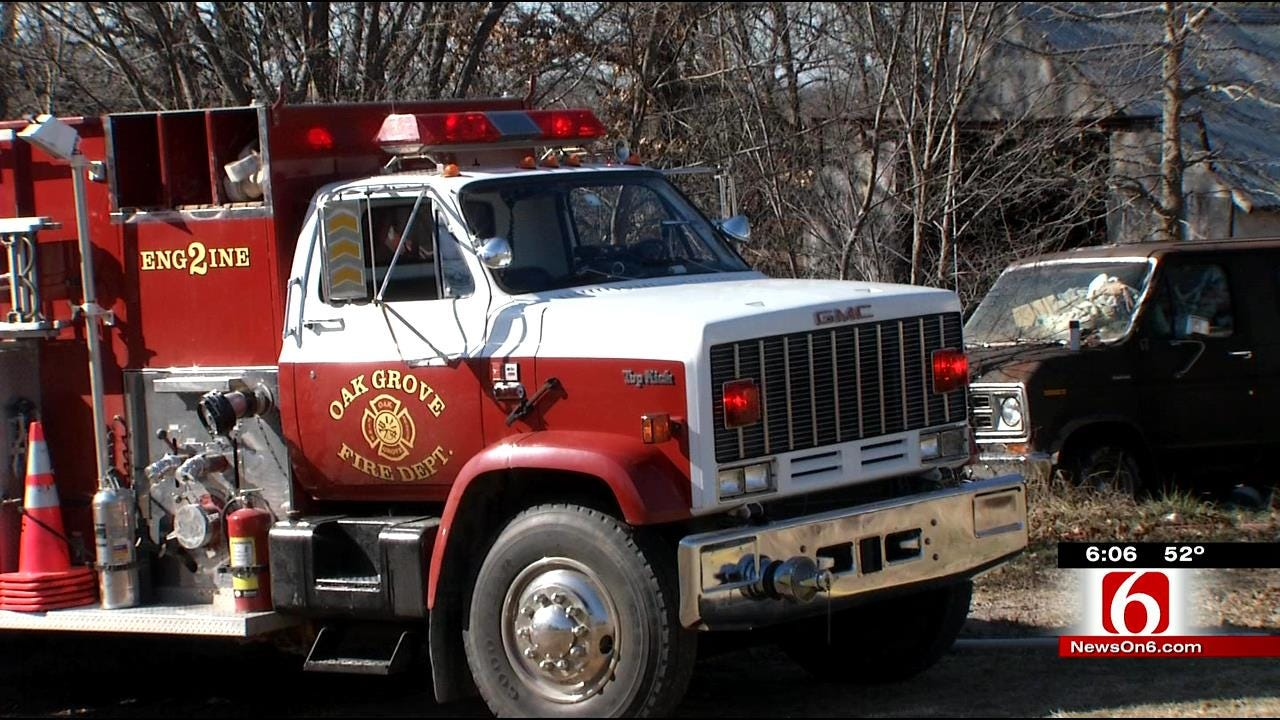 Grass Fires Keeping Tulsa-Area Firefighters Busy