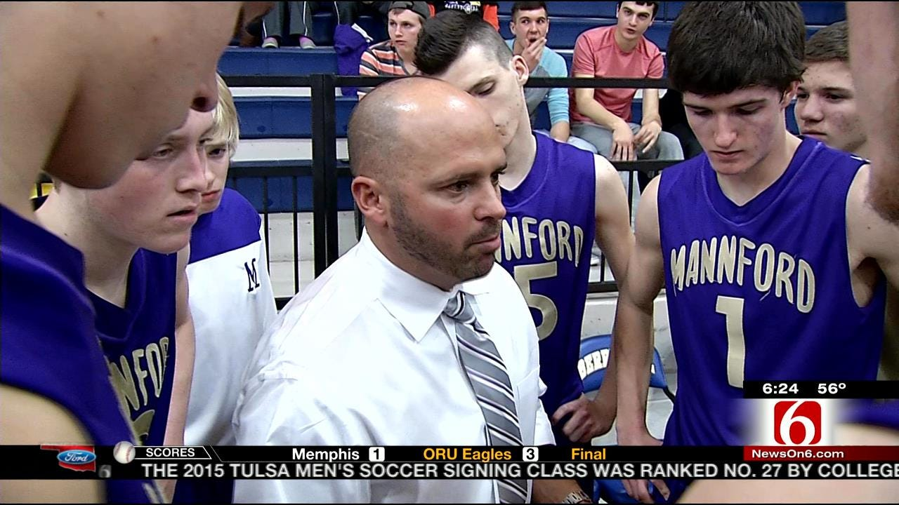 Father And Son Duo Coach Mannford H.S. Basketball To Success