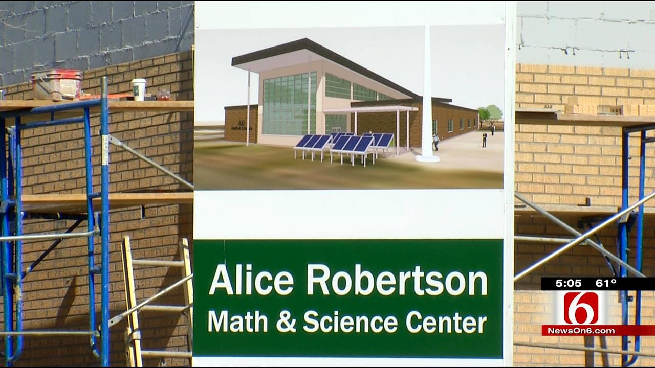 Muskogee School Expand STEM Education With Help From Tribe