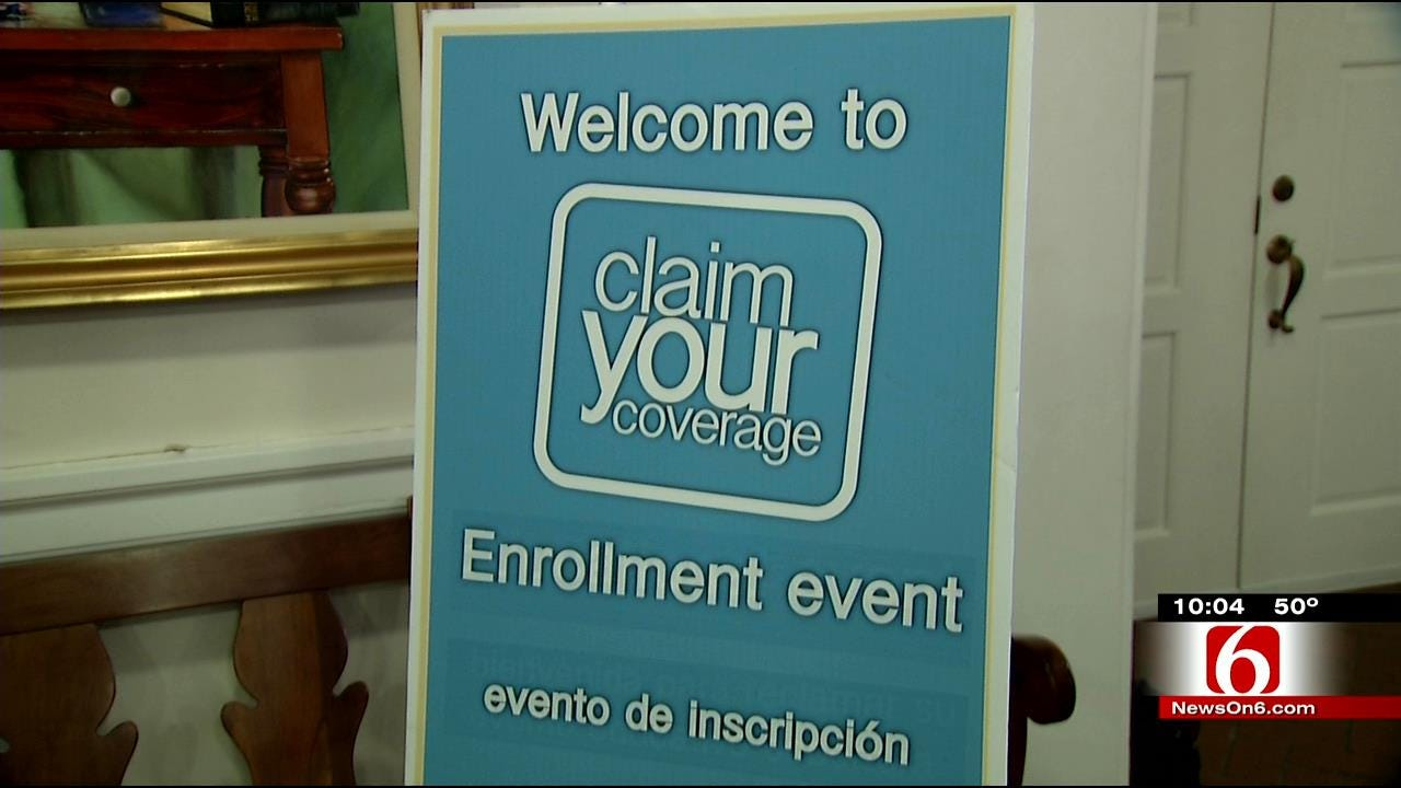 Experts Help Oklahomans Sign Up For Affordable Care Act Ahead Of Deadline