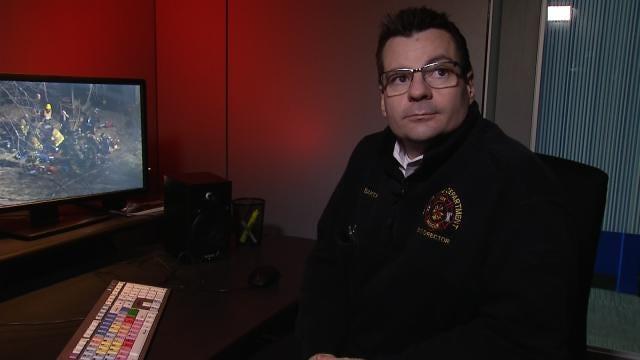 WEB EXTRA: Fire Captain Explains Life-Saving Actions