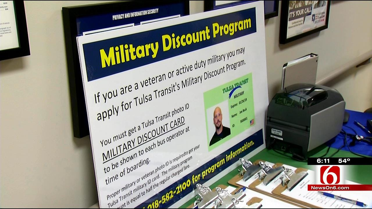 Tulsa Transit Announces Reduced Fares For Military Members