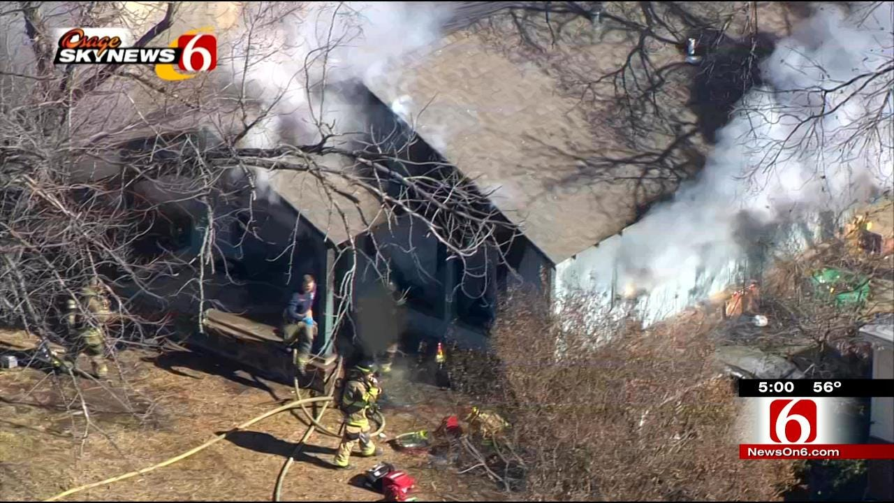 Boy Hurt In Tulsa House Fire Undergoes Surgery In Texas