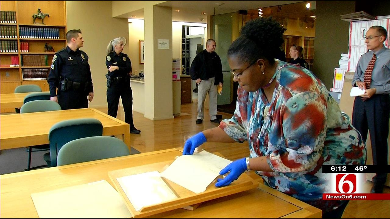 Copy Of Declaration Of Independence Moves To New Tulsa Home