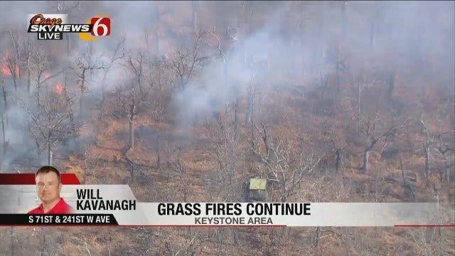 Osage SkyNews 6 HD pilot Will Kavanagh Talks About Creek County Fire